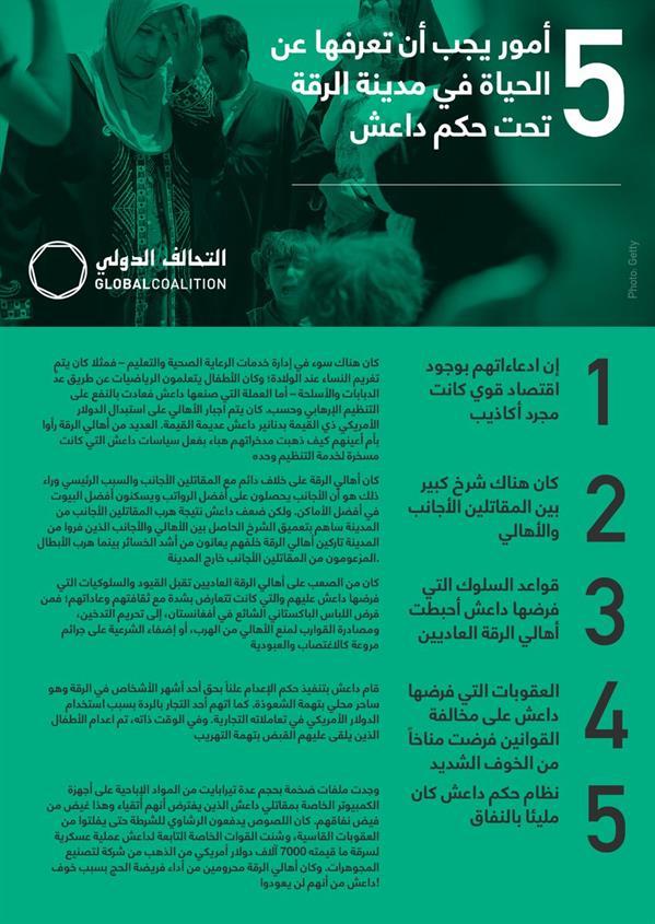 """أبرزها الرشاوى وتغريم النساء عند الولادة.. تعرف على 5 أمور عن الحياة في الرقة تحت حكم """"داعش"""""""