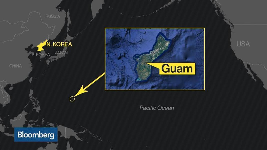 """شاهد.. كيف استعدت جزيرة """"جوام"""" الأمريكية لتهديدات كوريا الشمالية النووية"""