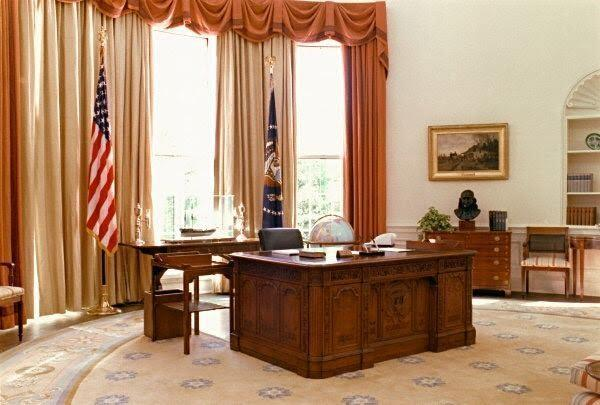 لماذا تتخذ عدة غرف في البيت الأبيض شكلا بيضاويا؟