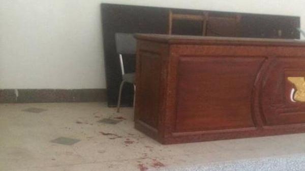 دماء الفتاة في قاعة المحكمة بصنعاء